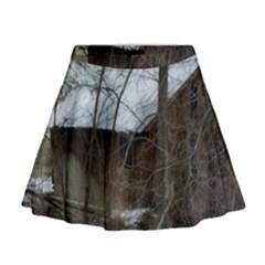 Abondoned House Mini Flare Skirt