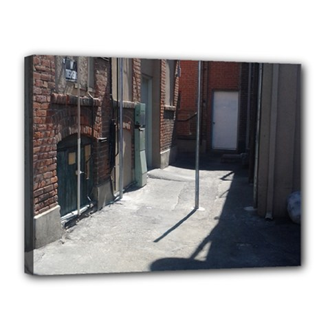 Alley Canvas 16  x 12