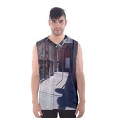 Alley Men s Basketball Tank Top