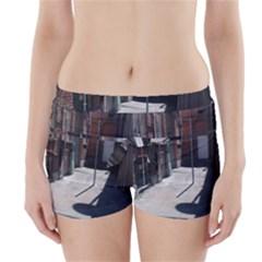Alley Boyleg Bikini Wrap Bottoms