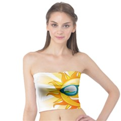 Cartoon Sun Tube Top