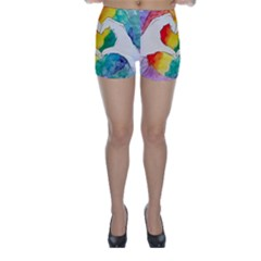 Pride Love Skinny Shorts