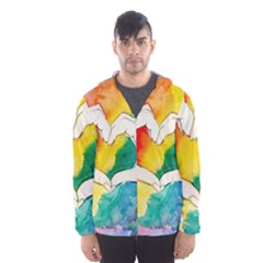 Pride Love Hooded Wind Breaker (Men)