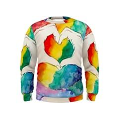 Pride Love Kids  Sweatshirt