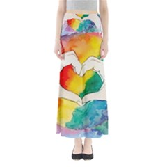 Pride Love Full Length Maxi Skirt