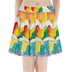 Pride Love Pleated Mini Skirt
