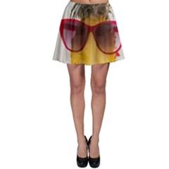 Pineapple With Sunglasses Skater Skirt