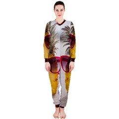 Pineapple With Sunglasses OnePiece Jumpsuit (Ladies)