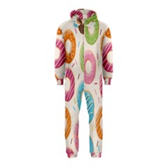 Colored Donuts Hooded Jumpsuit (Kids)