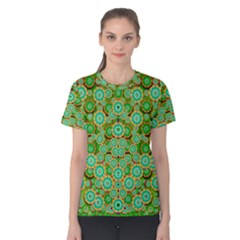 Flowers In Mind In Happy Soft Summer Time Women s Cotton Tee
