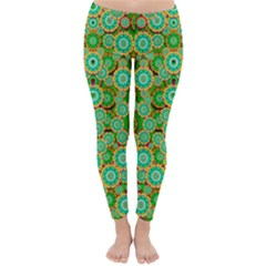 Flowers In Mind In Happy Soft Summer Time Classic Winter Leggings