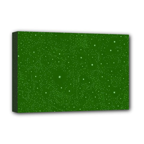Awesome Allover Stars 01d Deluxe Canvas 18  x 12