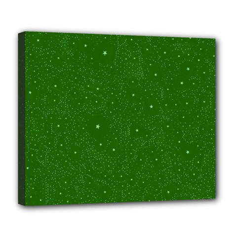 Awesome Allover Stars 01d Deluxe Canvas 24  x 20