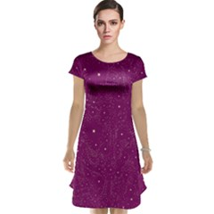 Awesome Allover Stars 01e Cap Sleeve Nightdress