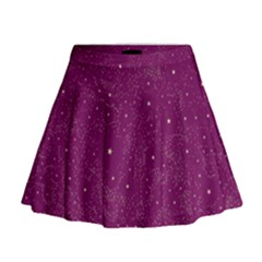 Awesome Allover Stars 01e Mini Flare Skirt