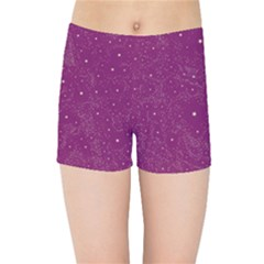 Awesome Allover Stars 01e Kids Sports Shorts