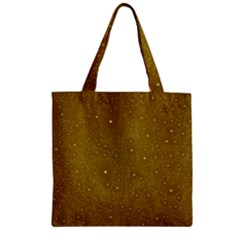 Awesome Allover Stars 01c Zipper Grocery Tote Bag