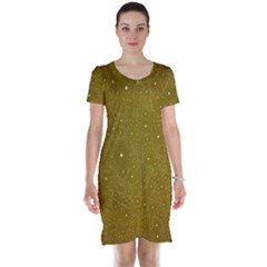 Awesome Allover Stars 01c Short Sleeve Nightdress
