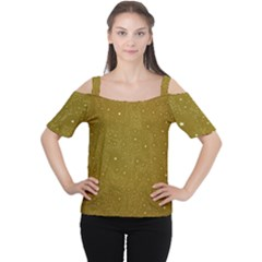 Awesome Allover Stars 01c Women s Cutout Shoulder Tee