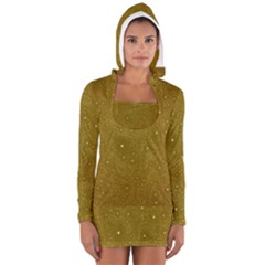 Awesome Allover Stars 01c Women s Long Sleeve Hooded T-shirt