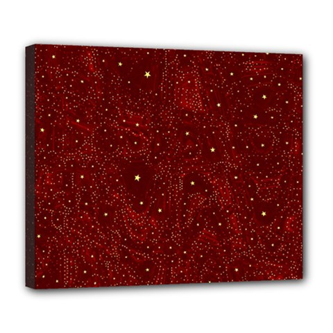 Awesome Allover Stars 01a Deluxe Canvas 24  x 20
