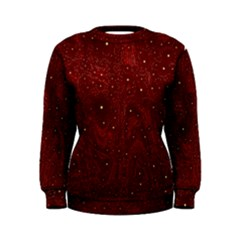 Awesome Allover Stars 01a Women s Sweatshirt
