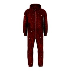 Awesome Allover Stars 01a Hooded Jumpsuit (Kids)