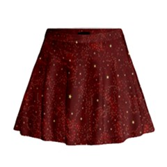 Awesome Allover Stars 01a Mini Flare Skirt