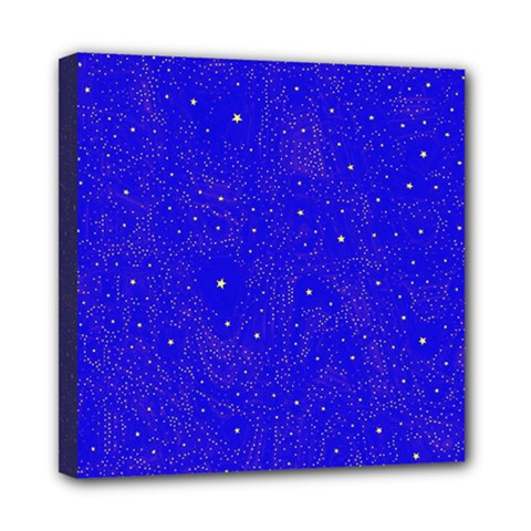 Awesome Allover Stars 01f Mini Canvas 8  x 8