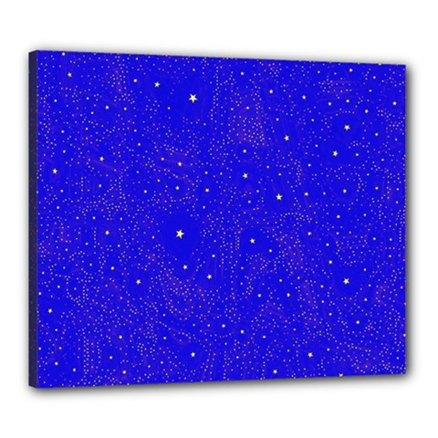 Awesome Allover Stars 01f Canvas 24  x 20