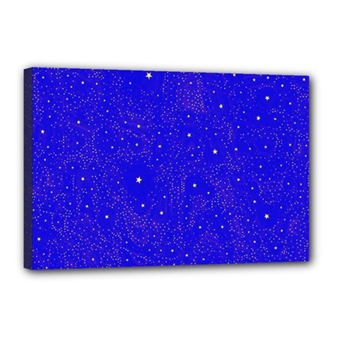 Awesome Allover Stars 01f Canvas 18  x 12