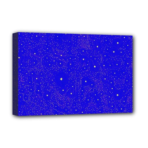 Awesome Allover Stars 01f Deluxe Canvas 18  x 12