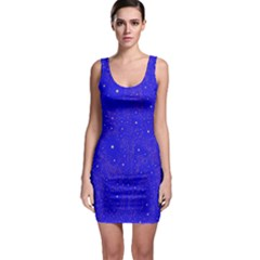 Awesome Allover Stars 01f Sleeveless Bodycon Dress