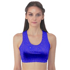 Awesome Allover Stars 01f Sports Bra