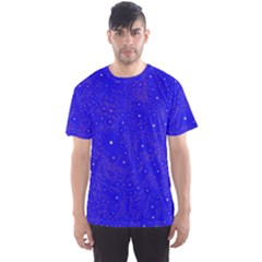 Awesome Allover Stars 01f Men s Sports Mesh Tee