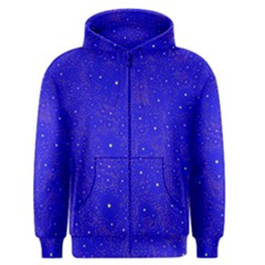 Awesome Allover Stars 01f Men s Zipper Hoodie