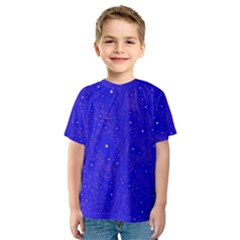 Awesome Allover Stars 01f Kids  Sport Mesh Tee