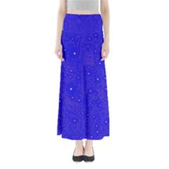 Awesome Allover Stars 01f Full Length Maxi Skirt