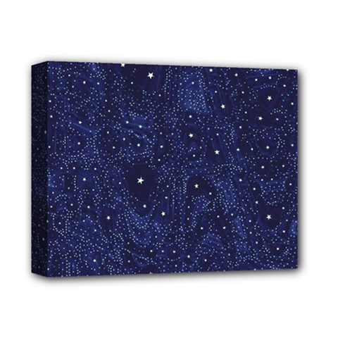 Awesome Allover Stars 01b Deluxe Canvas 14  x 11