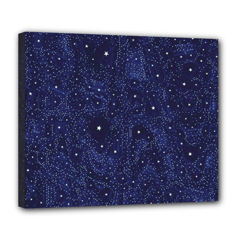 Awesome Allover Stars 01b Deluxe Canvas 24  x 20