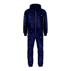 Awesome Allover Stars 01b Hooded Jumpsuit (Kids)
