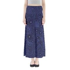 Awesome Allover Stars 01b Full Length Maxi Skirt