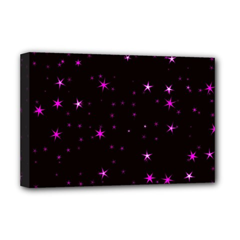 Awesome Allover Stars 02d Deluxe Canvas 18  X 12