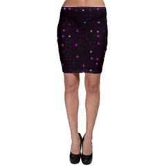 Awesome Allover Stars 02d Bodycon Skirt