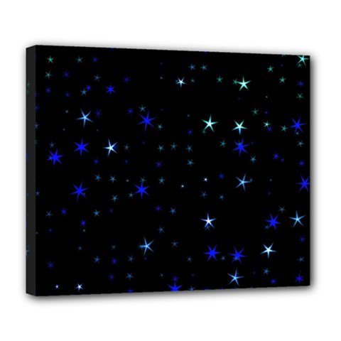 Awesome Allover Stars 02 Deluxe Canvas 24  x 20