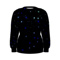 Awesome Allover Stars 02 Women s Sweatshirt