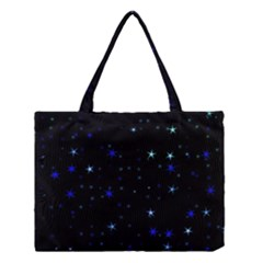 Awesome Allover Stars 02 Medium Tote Bag