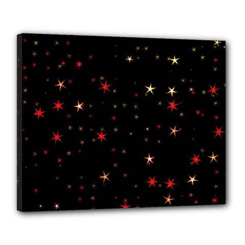 Awesome Allover Stars 02b Canvas 20  x 16