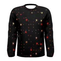 Awesome Allover Stars 02b Men s Long Sleeve Tee