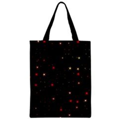 Awesome Allover Stars 02b Zipper Classic Tote Bag